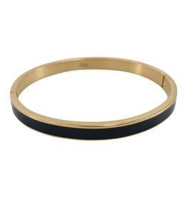 Kalli Kalli Bracelet 2156 6mm Goudkleurig M - 58mm