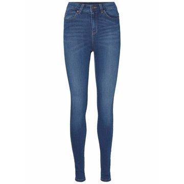 Noisy May Noisy May Skinny Jeans Donker Blauw