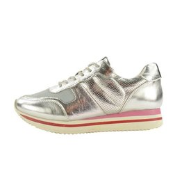 Fabs Shoes Fabs Sneakers Zilver