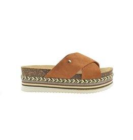 Fabs Shoes Fabs Sandals Cognac