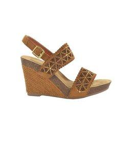Fabs Shoes Fabs Sandals Cognac Gold