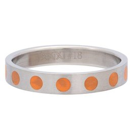 iXXXi Jewelry iXXXi Jewelry Vulring 4mm Round Orange