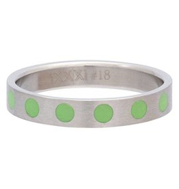 iXXXi Jewelry iXXXi Jewelry Vulring 4mm Round Green