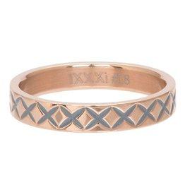 iXXXi Jewelry iXXXi Jewelry Vulring 4mm X Line Rosé