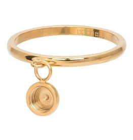 iXXXi Jewelry iXXXi Jewelry Vulring 2mm Top Part Base Dancing Goudkleurig