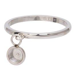iXXXi Jewelry iXXXi Jewelry Vulring 2mm Top Part Base Dancing Zilverkleurig