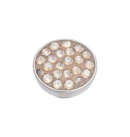 iXXXi Jewelry iXXXi Jewelry Top Part Blond Flare Stone Zilverkleurig