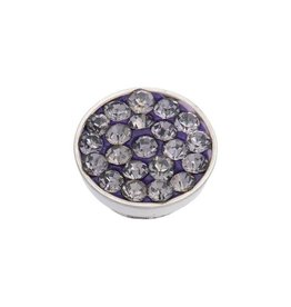 iXXXi Jewelry iXXXi Jewelry Top Part Tanzanite Stone Zilverkleurig