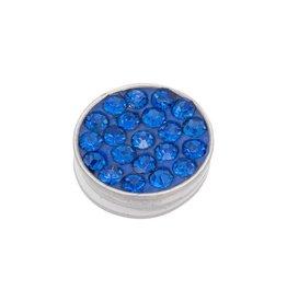 iXXXi Jewelry iXXXi Jewelry Top Part Capri Blue Stone Zilverkleurig
