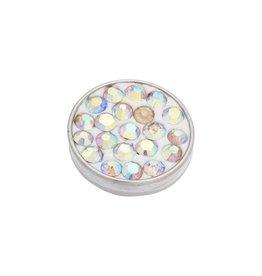 iXXXi Jewelry iXXXi Jewelry Top Part Crystal AB Stone Zilverkleurig