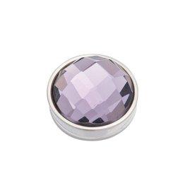 iXXXi Jewelry iXXXi Jewelry Top Part Facet Purple Zilverkleurig