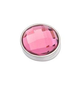 iXXXi Jewelry iXXXi Jewelry Top Part Facet Pink Zilverkleurig