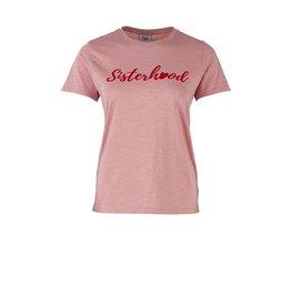 Saint Tropez Saint Tropez T1547 T-Shirt W Flock Print