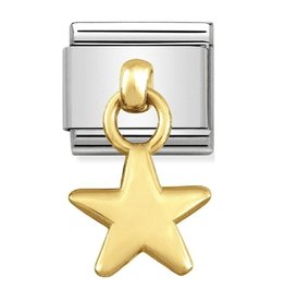 Nomination Nomination 031800/05 Charms Star 18k Goud