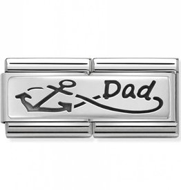 Nomination Nomination 330710/05 Double Engraved Infinite Dad