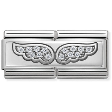 Nomination Nomination 330732/01 Double Rich CZ Angel Wings