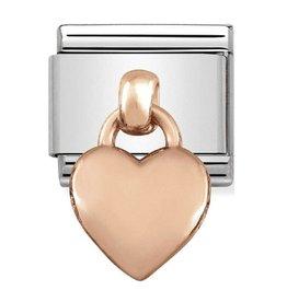 Nomination Nomination 431800/01 Charms Heart 9k Rosé