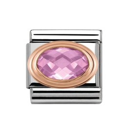 Nomination Nomination 430601/003 Link Faceted Pink 9k Rosé