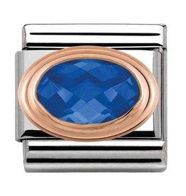 Nomination Nomination 430601/007 Link Faceted Blue 9k Rosé