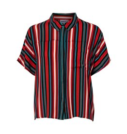 Noisy May Noisy May NM Melissa Shirt Mandarin Red