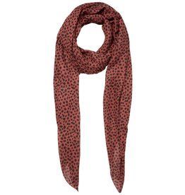 Pieces Pieces PC Curie Long Scarf Redwood