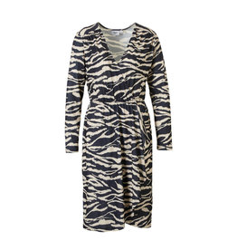 Saint Tropez Saint Tropez T6570 Tiger Wrap Dress