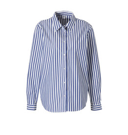 Saint Tropez Saint Tropez T1261 Shirt Striped Light Blue