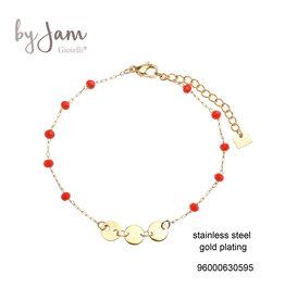 By Jam Gioielli By Jam Armband Oranje-Goudkleurig