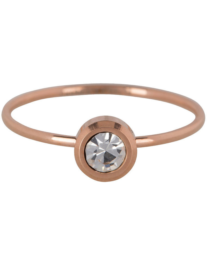 Charmin*s Charmin's R490 Stylish Bright Rosé Gold Steel