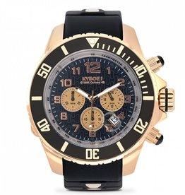 Kyboe! Horloges Kyboe CHRONO ROSE BLACK KYCRG-001 55 mm