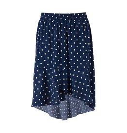 Saint Tropez Saint Tropez T8031 Woven Skirt W Dots Ant.Blue