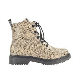 Fabs Shoes Fabs Boots Snake Camel