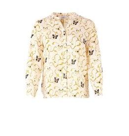 Saint Tropez Saint Tropez T1133 Woven Shirt Creme