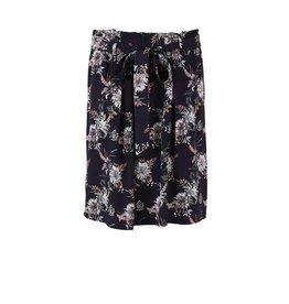 Saint Tropez Saint Tropez T8064 Woven Skirt Above Knee Deep Blue