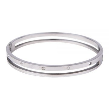 Kalli Kalli Bracelet 2113 Zilverkleurig - M 58mm