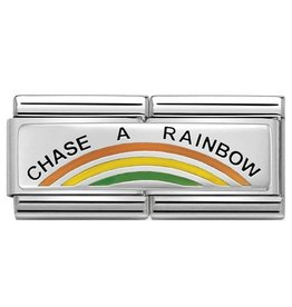 Nomination Nomination Double Link 330721/02 Chase a Rainbow