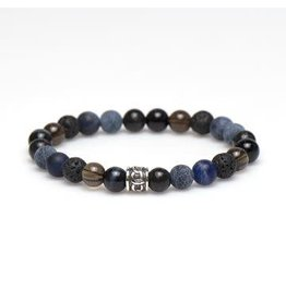 Karma Karma for Men Polar Silver Logo Bead 86864