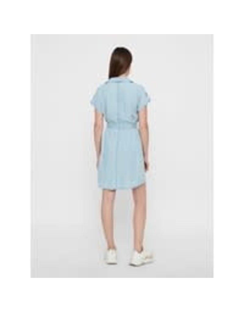Noisy May Noisy May NMVera Endi Shirt Dress Light Blue Denim
