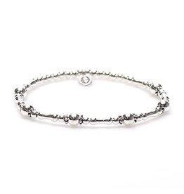 Karma Karma Bali Style Bracelet Silver 92286