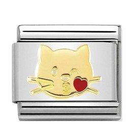 Nomination Nomination Link 030272/45 Cat Kiss