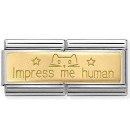 Nomination Nomination Double Link 030710/20 Impress Me Human
