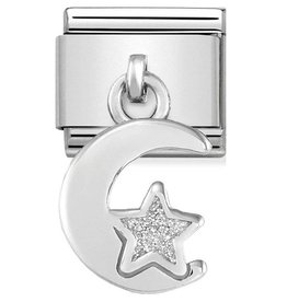 Nomination Nomination Charm 331805/05 Moon & Star