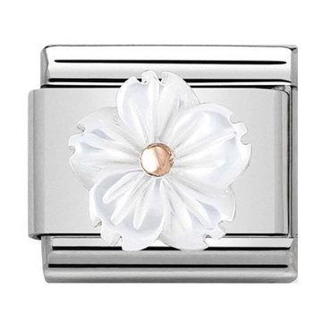 Nomination Nomination Link 430510/02 Flower in Mother of Pearl