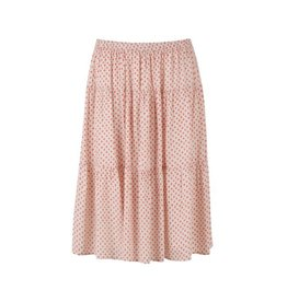 Saint Tropez Saint Tropez T8073Woven Skirt Below Knee S.Coral