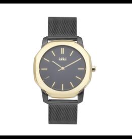 iKKi Horloges Ikki VC06 Zwart/Goudkleurig