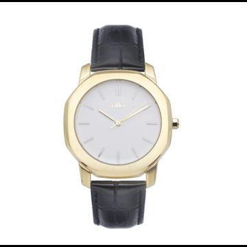iKKi Horloges Ikki VC07 Zwart/Goudkleurig/Wit