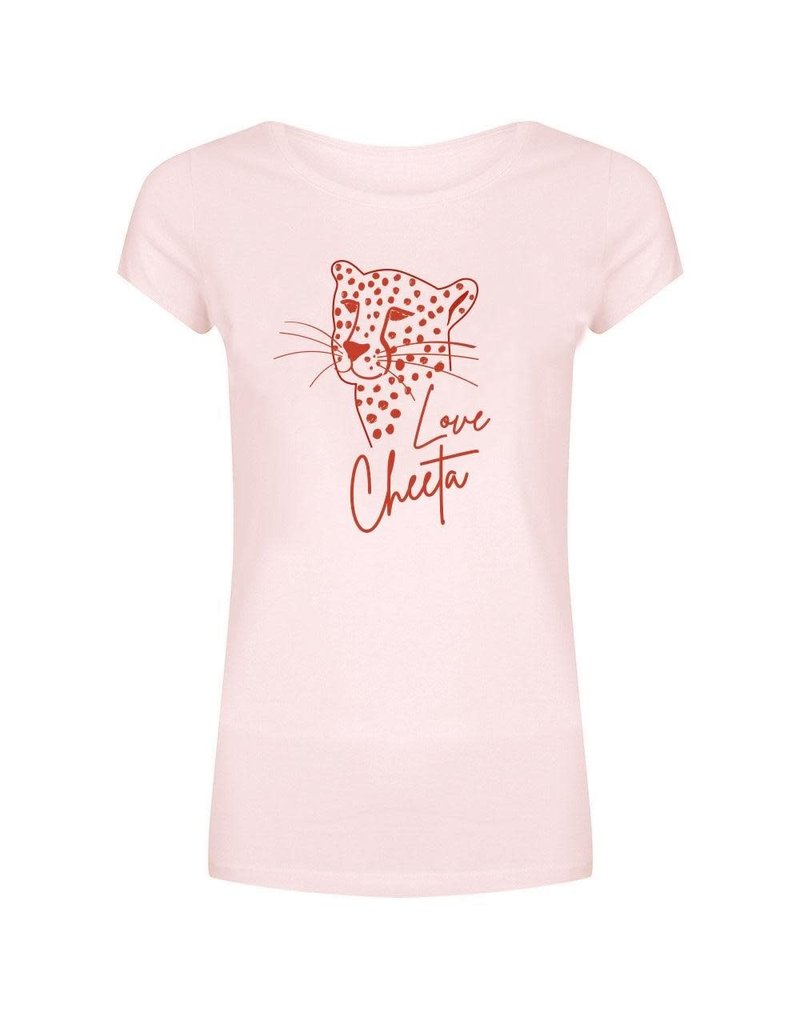 Forever FRiday Forever Friday Cheetah Tee Pink