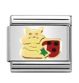 Nomination Nomination Link 030272/47 Hamster Strawberry