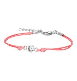 iXXXi Jewelry iXXXi Jewelry Top Part Bracelet Wax Cord Pink