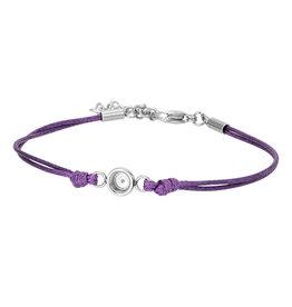 iXXXi Jewelry iXXXi Jewelry Top Part Bracelet Wax Cord Purple